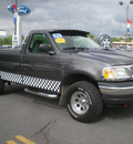 ford f 150 2003 gray pickup truck gasoline 8 cylinders sohc 4 wheel drive automatic with overdrive 13502