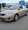toyota corolla 2010 beige sedan gasoline 4 cylinders front wheel drive automatic 28557