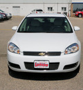 chevrolet impala 2010 white sedan lt flex fuel 6 cylinders front wheel drive automatic 55318