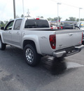 gmc canyon 2011 silver sle 1 gasoline 5 cylinders 2 wheel drive automatic with overdrive 28557