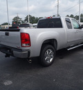 gmc sierra 1500 2011 silver pickup truck sle flex fuel 8 cylinders 2 wheel drive automatic with overdrive 28557