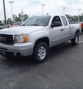 gmc sierra 1500 2011 silver sle flex fuel 8 cylinders 4 wheel drive automatic with overdrive 28557