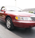 lincoln continental 1999 red sedan gasoline v8 dohc front wheel drive automatic 60098
