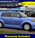 scion xb 2010 blue hatchback rs gasoline 4 cylinders front wheel drive automatic 56001
