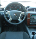 chevrolet avalanche 2011 silver suv ls 4x4 flex fuel 8 cylinders 4 wheel drive automatic with overdrive 55391