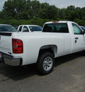 chevrolet silverado 1500 2011 white work truck flex fuel 8 cylinders 2 wheel drive automatic 55391