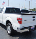 ford f 150 2010 white xlt gasoline 8 cylinders 2 wheel drive automatic 34474