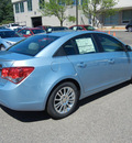 chevrolet cruze 2011 lt  blue sedan eco gasoline 4 cylinders front wheel drive 6 speed manual 55391