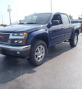 gmc canyon 2011 blue sle 1 gasoline 5 cylinders 2 wheel drive automatic 28557