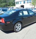 chevrolet malibu 2011 black sedan lt gasoline 4 cylinders front wheel drive 6 speed automatic 55391
