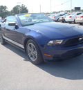 ford mustang 2010 blue v6 gasoline 6 cylinders rear wheel drive automatic 28557