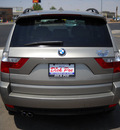 bmw x3 2008 sand suv 3 0si gasoline 6 cylinders all whee drive automatic 79925