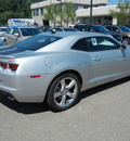 chevrolet camaro 2011 silver coupe lt gasoline 6 cylinders rear wheel drive 6 speed automatic 55391