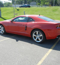 chevrolet camaro 2011 red coupe ss gasoline 8 cylinders rear wheel drive 6 speed manual 55391