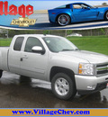 chevrolet silverado 1500 2011 silver ltz flex fuel 8 cylinders 4 wheel drive automatic with overdrive 55391