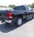 gmc sierra 1500 2011 black pickup truck sle flex fuel 8 cylinders 2 wheel drive automatic with overdrive 28557