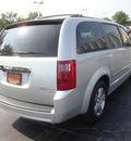 dodge grand caravan 2010 silver van sxt gasoline 6 cylinders front wheel drive automatic 60443