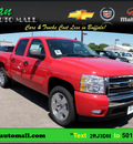 chevrolet silverado 1500 2011 red lt flex fuel 8 cylinders 4 wheel drive 6 speed automatic 55313