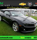 chevrolet camaro convertible 2011 black ss gasoline 8 cylinders rear wheel drive 6 speed automatic 55313