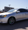 scion tc 2008 silver hatchback gasoline 4 cylinders front wheel drive automatic 76018