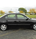 hyundai elantra 2003 black sedan gt gasoline 4 cylinders front wheel drive 43228