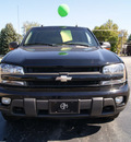chevrolet trailblazer 2004 black suv lt gasoline 6 cylinders 4 wheel drive automatic 61008