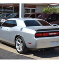 dodge challenger 2008 silver coupe srt8 gasoline 8 cylinders rear wheel drive automatic 76903