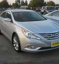 hyundai sonata 2012 radiant silver sedan se 2 0t gasoline 4 cylinders front wheel drive 6 speed automatic 99208