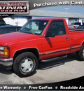 gmc sierra 1500 1995 red gasoline 8 cylinders 4 wheel drive automatic 77388