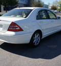 mercedes benz c class 2003 white sedan c240 gasoline 6 cylinders rear wheel drive automatic 46168