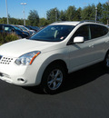 nissan rogue 2009 off white suv sl awd gasoline 4 cylinders all whee drive automatic 55448