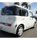 nissan cube 2009 white wagon 1 8 sl gasoline 4 cylinders front wheel drive cont  variable trans  91761