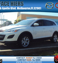 mazda cx 9 2012 crystal white suv sport gasoline 6 cylinders front wheel drive automatic 32901