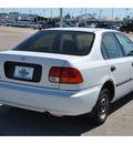 honda civic 1996 white sedan lx gasoline 4 cylinders front wheel drive 5 speed manual 77388