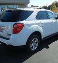 chevrolet equinox 2012 white lt flex fuel 4 cylinders front wheel drive automatic 55391