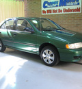 nissan sentra 1998 green sedan gxe gasoline 4 cylinders front wheel drive 5 speed manual 44883