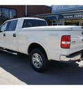 ford f 150 2008 white lariat flex fuel 8 cylinders 4 wheel drive automatic 47172