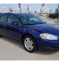 chevrolet impala 2006 blue sedan ltz gasoline 6 cylinders front wheel drive 4 speed automatic 77090
