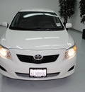toyota corolla 2009 white sedan le gasoline 4 cylinders front wheel drive automatic 91731