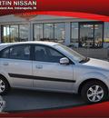 kia rio 2009 silver wagon lx gasoline 4 cylinders front wheel drive manual 46219