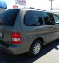 kia sedona 2003 green van lx gasoline 6 cylinders dohc front wheel drive automatic 92882