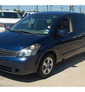 nissan quest 2007 dk  blue van s gasoline 6 cylinders front wheel drive 5 speed automatic 77090