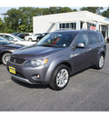 mitsubishi outlander 2008 graphite gray suv xls gasoline 6 cylinders all whee drive automatic 07724