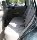 subaru forester 2009 sage green suv 2 5 x gasoline 4 cylinders all whee drive automatic 07701