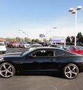 chevrolet camaro 2010 black coupe ss gasoline 8 cylinders rear wheel drive automatic with overdrive 60546