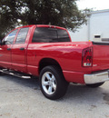 dodge ram 1500 2006 red pickup truck big horn gasoline 8 cylinders rear wheel drive automatic 32901