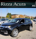 acura mdx 2011 black suv awd gasoline 6 cylinders all whee drive automatic with overdrive 60462