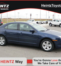 ford fusion 2007 blue sedan i 4 se gasoline 4 cylinders front wheel drive automatic 56001