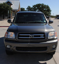 toyota sequoia 2003 gray suv limited gasoline 8 cylinders rear wheel drive automatic with overdrive 76087