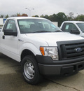 ford f 150 2011 white xl flex fuel 8 cylinders 4 wheel drive 6 speed automatic 62863
